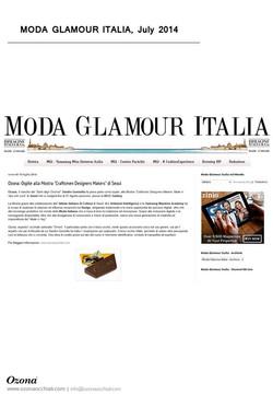 Moda Glamour Italia, July 2014