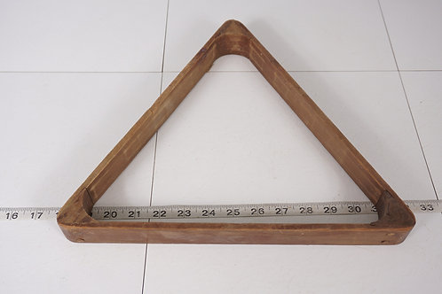 Wooden Billiard Triangle
