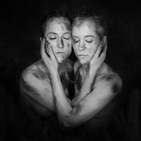 Model: Elizabeth Rousselot-Wilkinson & Theresa Rousselot-Vandiver Body Painters: Becca Lammert Bryan & Deidre Rosenberger Photographer and Concept: Kendra Paige with Spectacular Moments