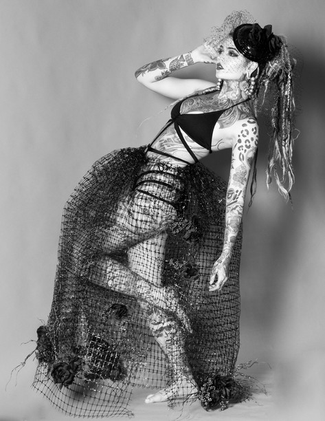 Model: Morgin Riley Designer: Jealousy Jane Couture Photographer: Kendra Paige with Spectacular Moments
