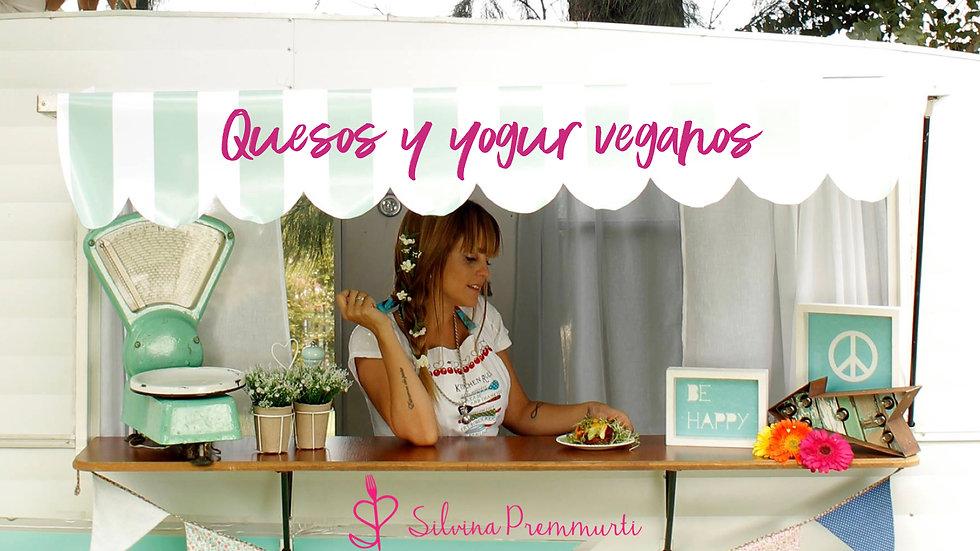 Recetario de Quesos y Yogures Veganos - Silvina Premmurti