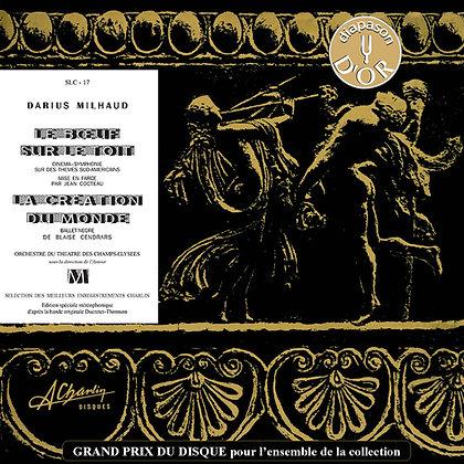 Darius Milhaud - The Beef on the Roof [Vinyl] SLC 17
