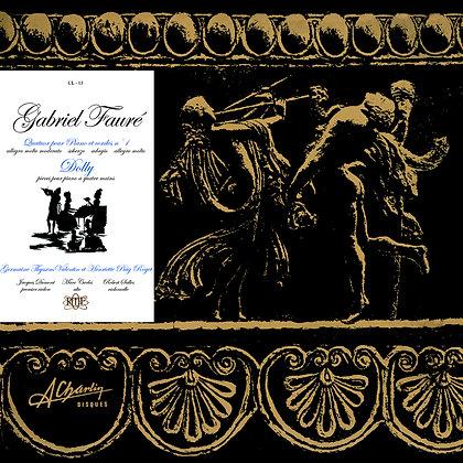 Gabriel Fauré - Quatuor avec piano en Do M op 15 [Digital] CL13