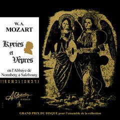 Wolfgang Amadeus Mozart - Kyries et Vêpres [Compact Disc] AMS78