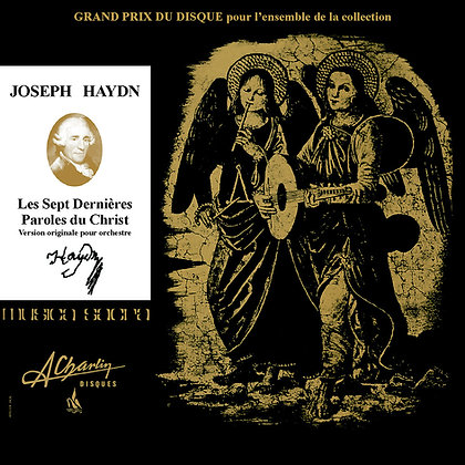 Joseph Haydn - Les sept dernières paroles du Christ [Compact Disc] AMS 72