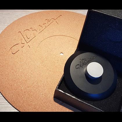 Kit vinyle - Stabilisateur + tapis en liège