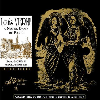 Louis Vierne - aux orgues de Notre Dame de Paris AMS107 [Digital]