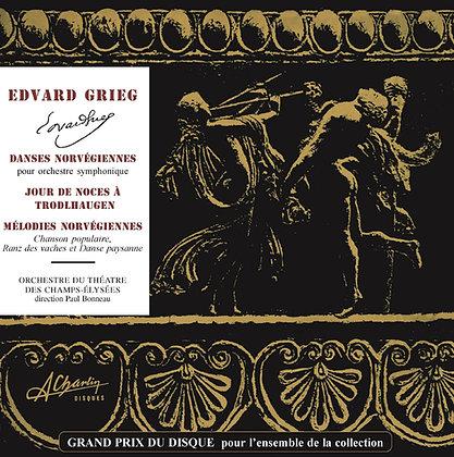 Edvard Grieg - Danses norvégiennes [Digital] SLC4