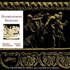 Mozart, Vivaldi, Boccherini - Divertissements nocturnes [Digital] SLC31