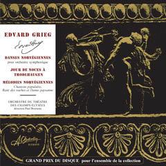 Edvard Grieg - Norwegian Dances [Compact Disc] SLC4