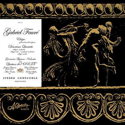 Gabriel Fauré - Elégie pour violoncelle et piano [vinyle] - CL 11
