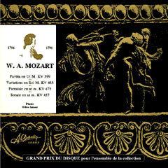 Wolfgang Amadeus Mozart au piano [Compact Disc] CCV1001