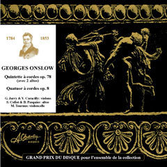 Georges Onslow - Quintet with 2 cellos [Compact Disc] CCV1002