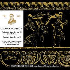 Georges Onslow - Quintette avec 2 violoncelles [Compact Disc] CCV1002