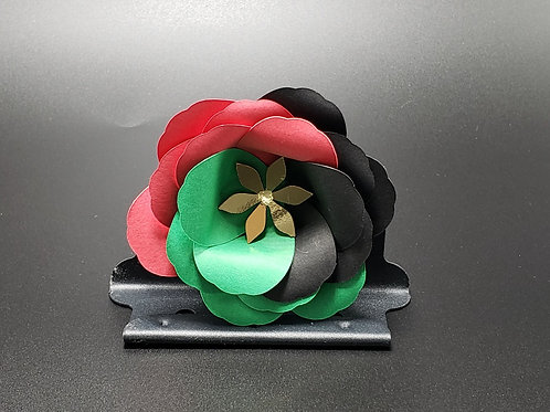 The Root Tri Color Flower Pin