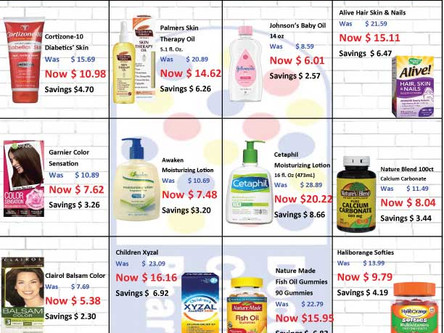 Check out our pharmacy savings this month!