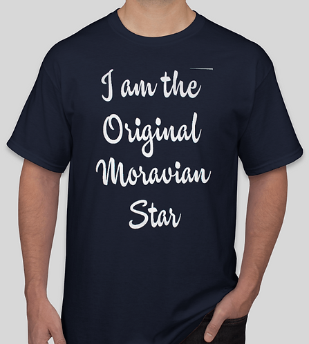 """I Am The Original Moravian Star"" Youth T-Shirt"
