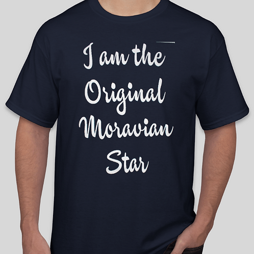 """I Am The Original Moravian Star"" Youth T-Shirt"