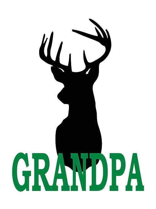 Deer with Name Decal