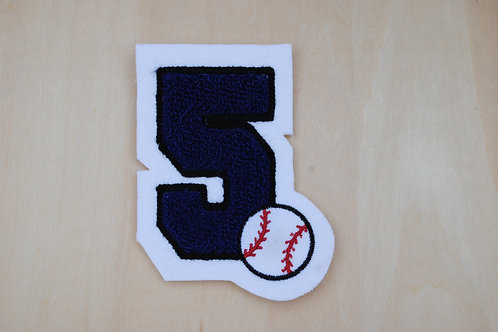 Sport Number Patch