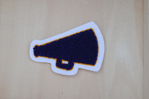 Cheer Megaphone Patch