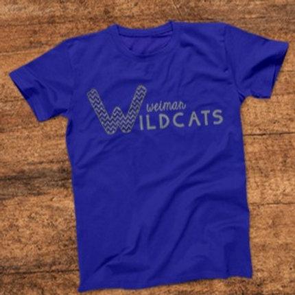 Weimar Wildcats Chevron- W14