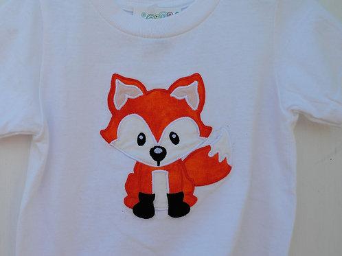 Fox Applique Shirt