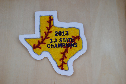 Texas State Patch w/Seams