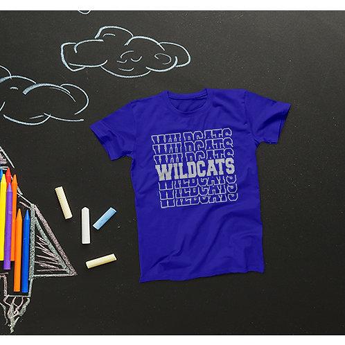 Wildcats Repeat Tee