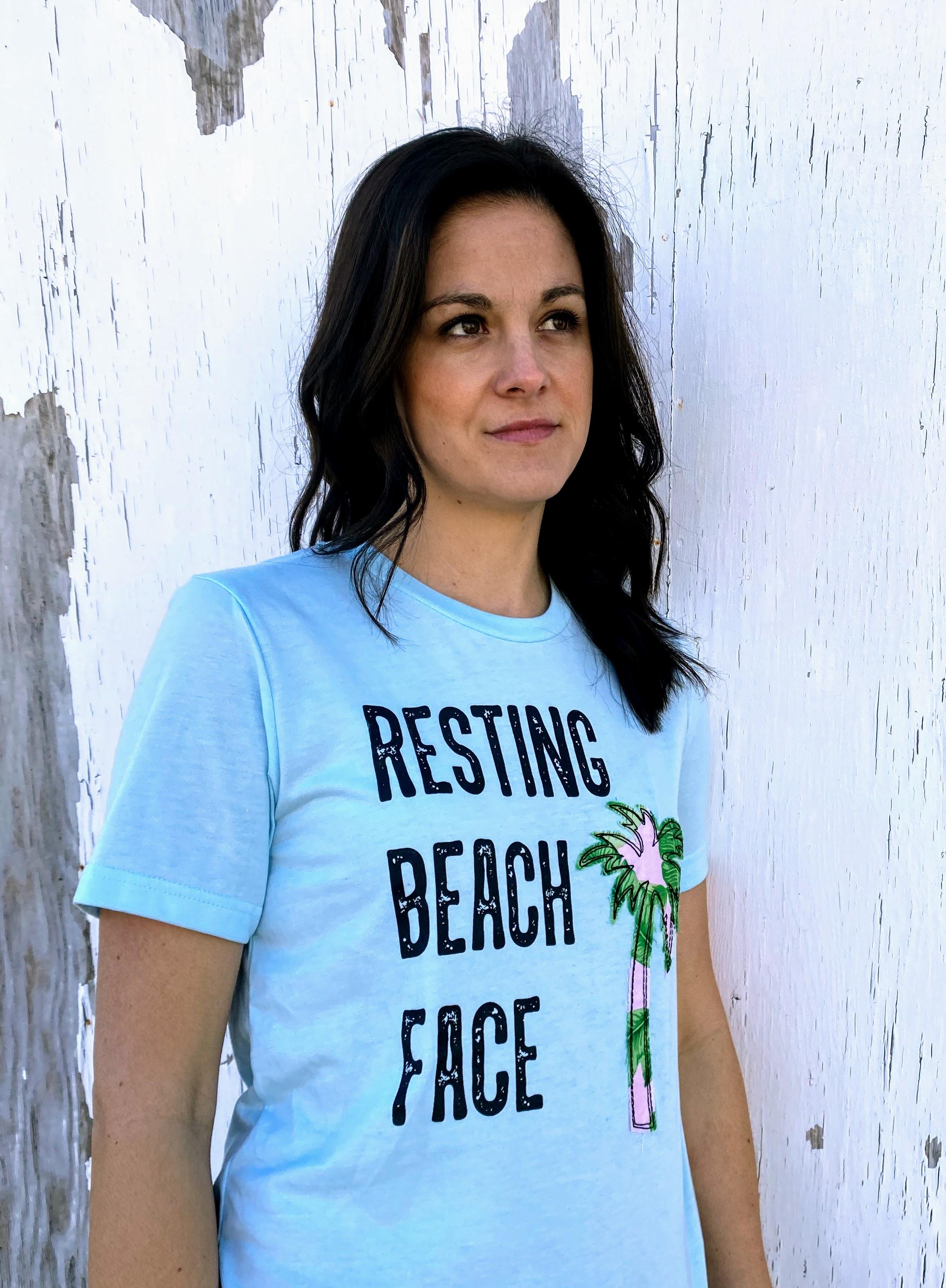 Resting Beach Face (ws)