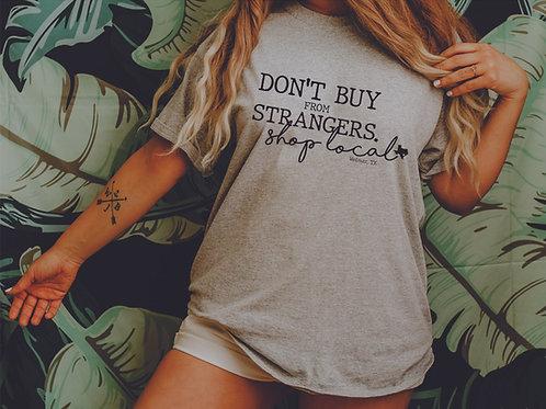 Don't Buy from Strangers