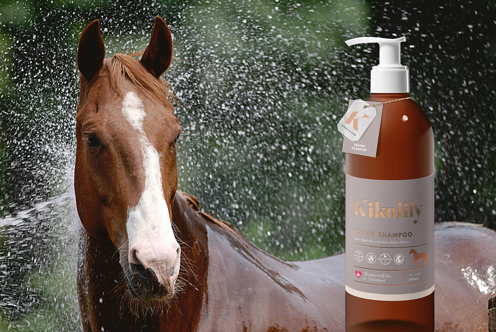 skin disease horse natural shampoo