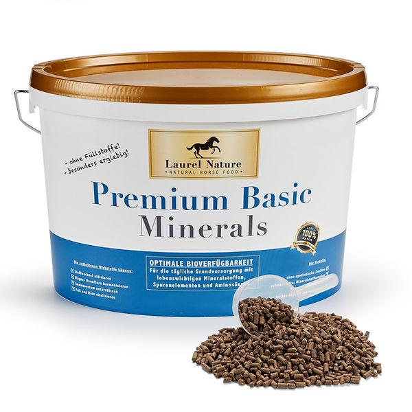 Natürliches Mineralfutter für Pferde