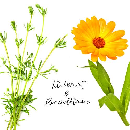 Klebkraut & Ringelblume Kräutertinktur
