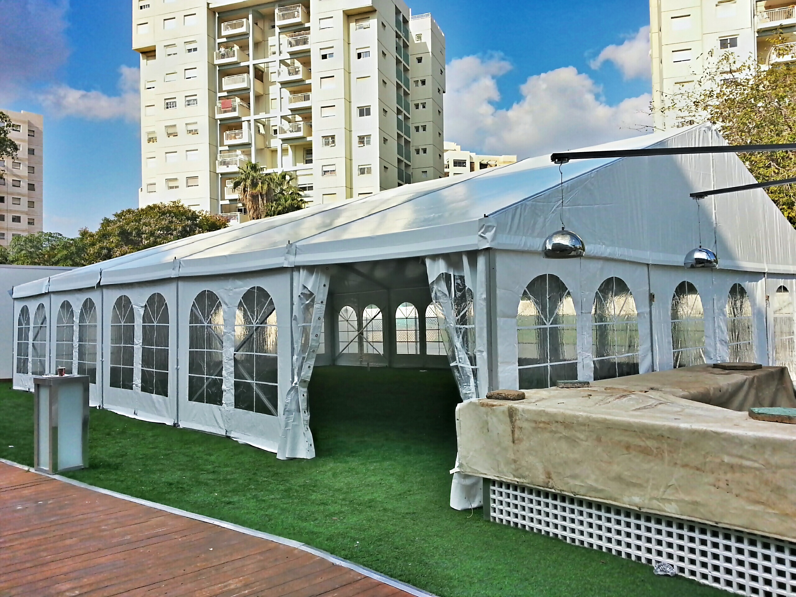 אוהלי מבנה לאירועים
