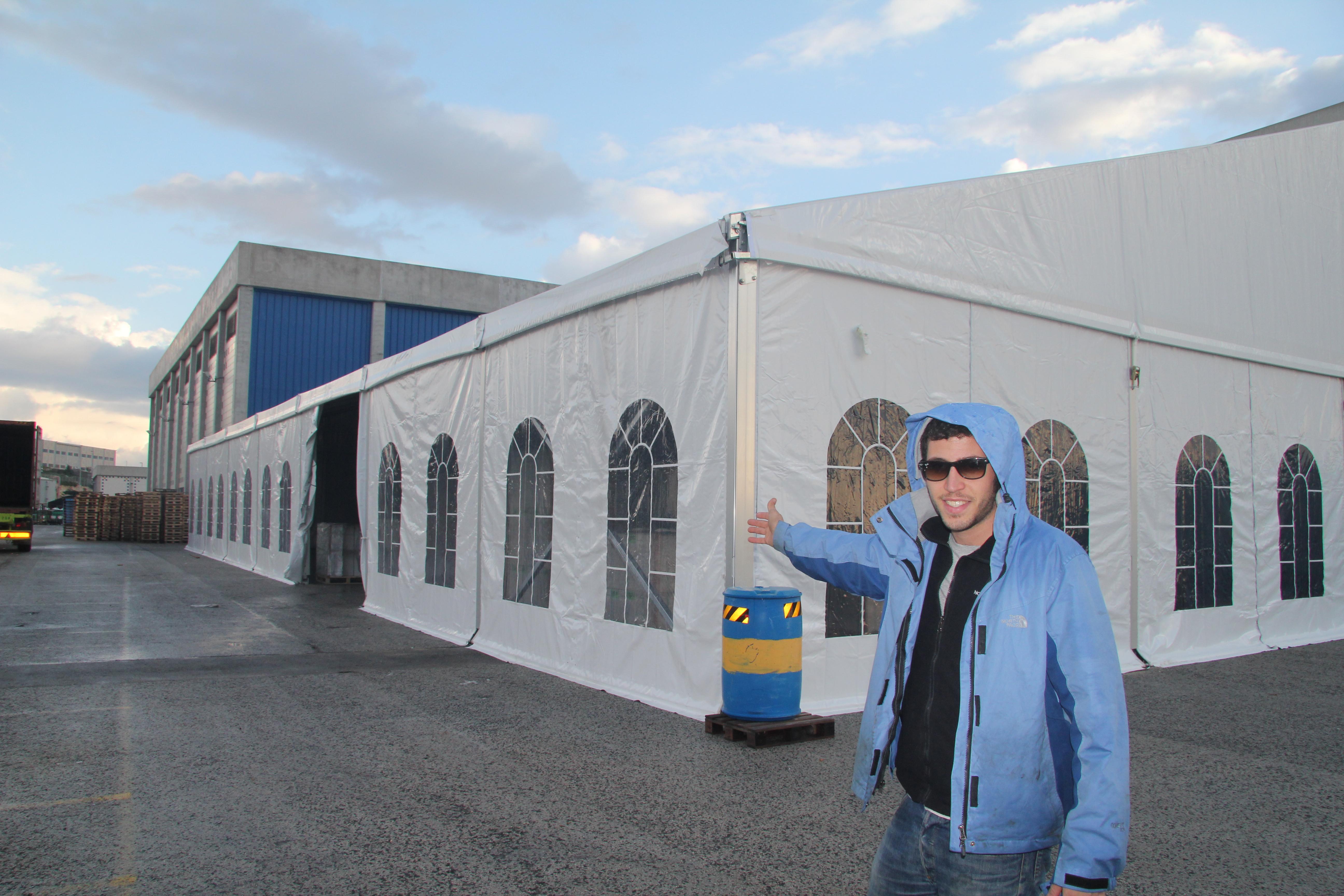 אוהל מבנה גדול דור פילם כרמיאל