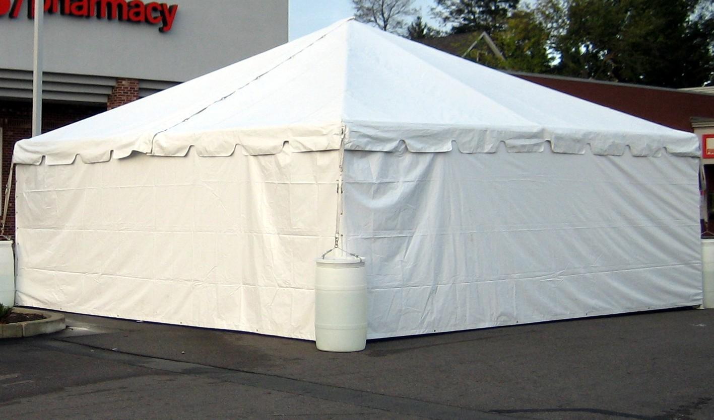 אוהלי אחסון נגד גשמים ושלגים