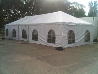 הקמת אוהל פריים במושב נורדיה