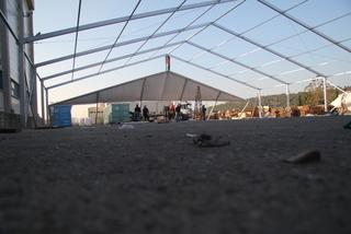 שלד המבנה של האוהל