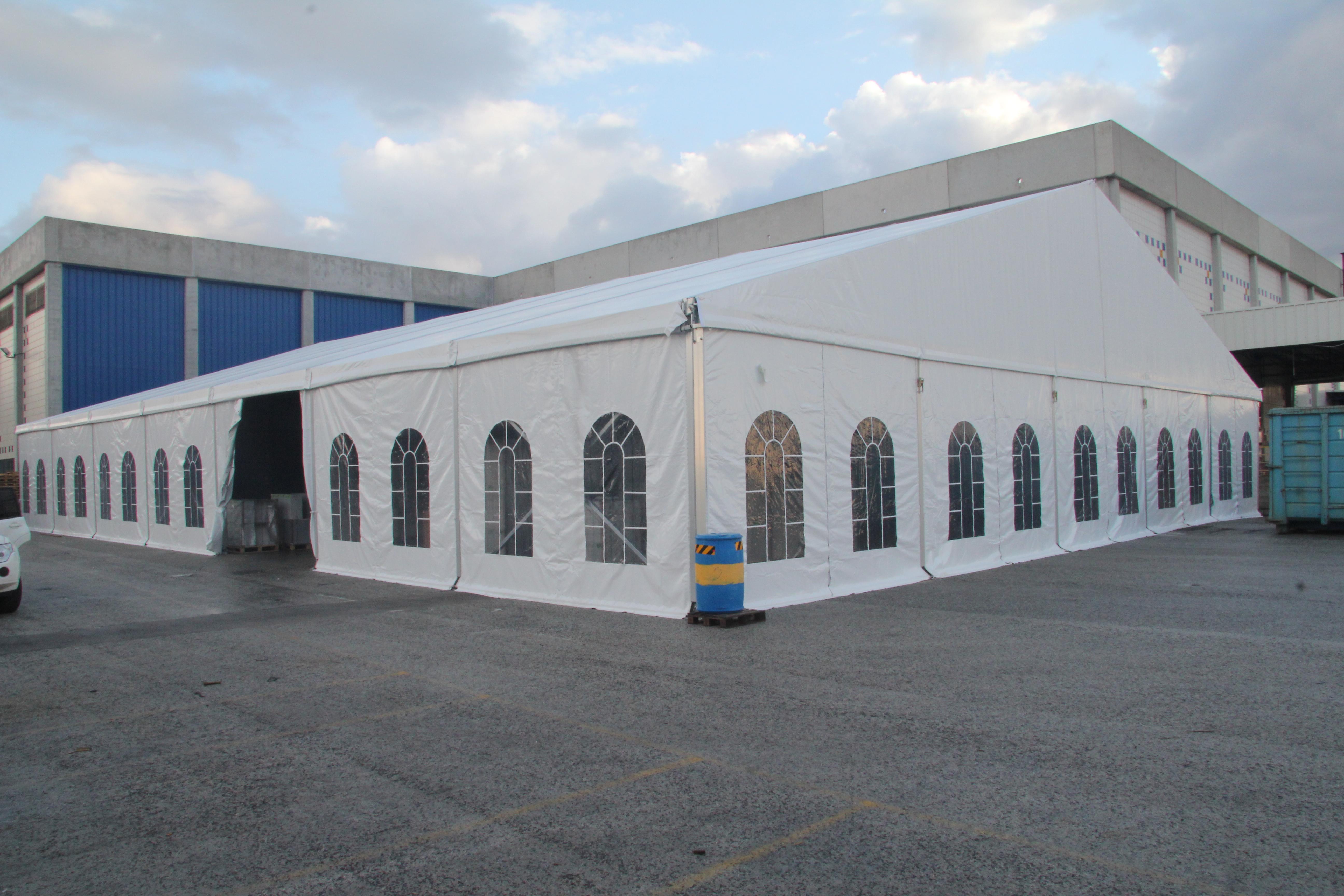 אוהל ענק 900 מטר לתעשייה