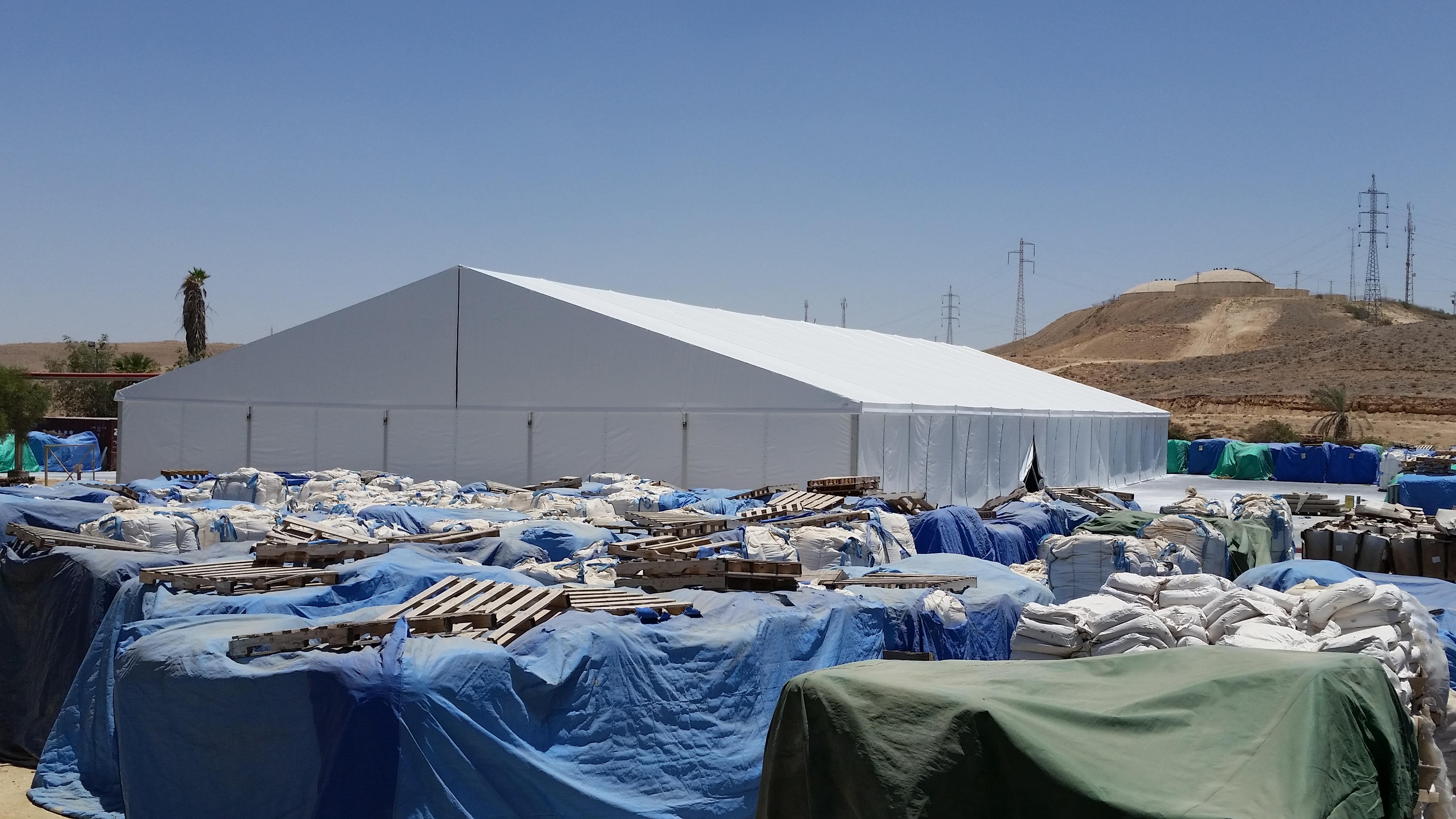 אוהל מחסן 1500 מטר