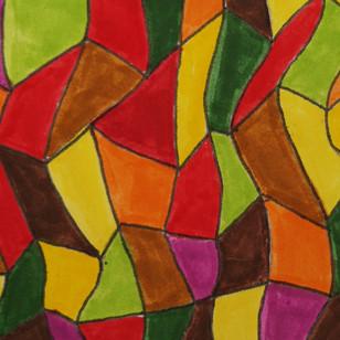 Curling Geometric leaves
