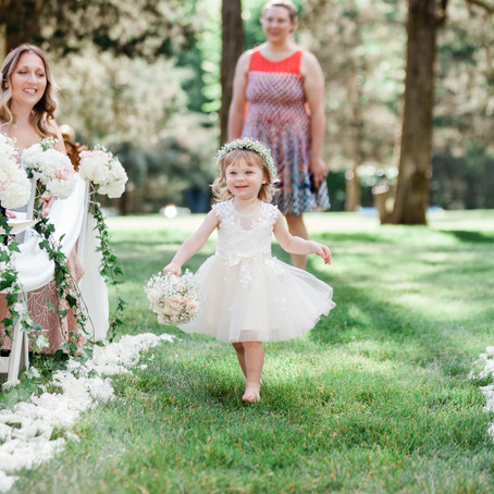 Flower Girls, Ring Bearers, and Weddings, Oh my!