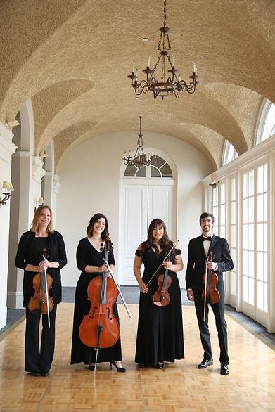 String quartet at The Wadsworth Mansion