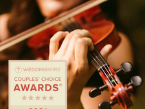 It's official: We won Wedding Wire's Couples Choice Award 2021!