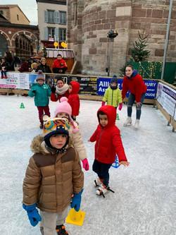 Noël patinage artistique