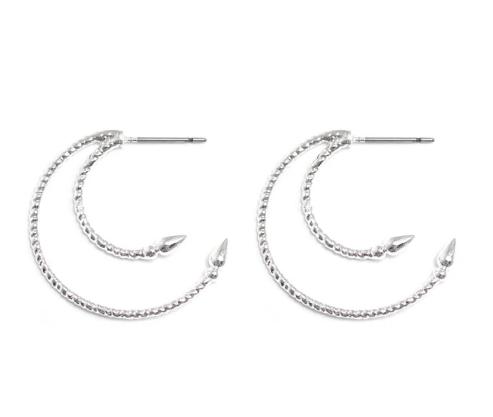 Venus earrings-silver