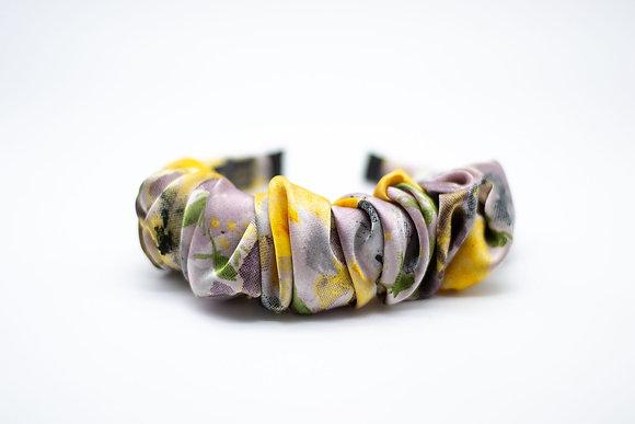 Ruched Headband-lilac