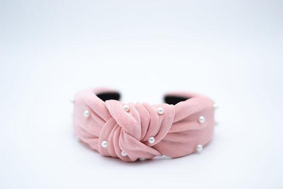 Pearl Headband-pink