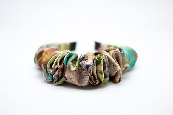Ruched Headband-tawny